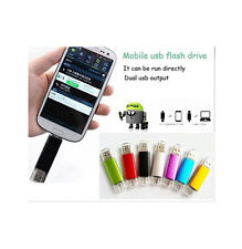 16GB Micro USB 2.0 Pen Memory Stick U Disk for OTG phone Android Tablet
