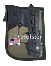 Green DOUBLE-SIDED LEFT/ RIGHT HAND POCKET HOLSTER for RUGER LCP KEL-TEC 380 P32