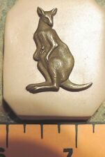 KANGAROO BABY LITTLE PUSH MOLD FROM ANTIQUE JEWELRY CASTING SEE RULER IN PHOTO