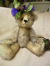 """10"""" mohair  bear by Annette Funicello"""