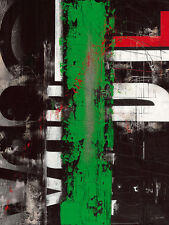 Carole Bécam: Globalidad Fertig-Bild 60x80 Wandbild Abstrakt modern