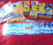 Kobe Bryant retirement package Bobblehead Jersey Ticket stubs Lakers NBA