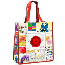 New USPS Love Stamps Collage Tote Bag (Pack of 5)