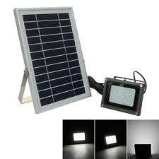 Power Saving N500C 54 LED Floodlight White Light Powered through a solar panel