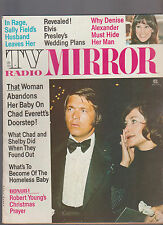 TV Radio Mirror January 1974 Chad Everett Robert Young Sally Field Elvis