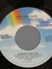 """SHEENA EASTON 45 RPM """"The Lover in Me"""" VG+ condition"""