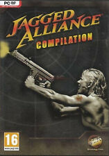 Jagged Alliance Compilation (PC 2002) Jagged Alliance 1 & 2, and both expansions