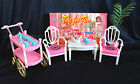GLORIA DOLL HOUSE FURNITURE TEA FOR TWO W/ Coffee Table PLAYSET FOR BARBIE