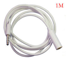 1M 3.5mm Female to Male F/M Headphone Stereo Audio Extension Cables Cord MP3