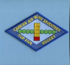CVW-17 CARRIER AIR WING TOP FIVE NUGGET US Navy Aircraft Carrier squadron Patch