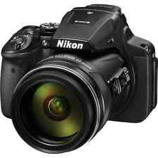 Nikon Coolpix P900 Digital Bridge 83x Optical Zoom Camera: Black
