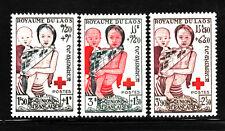 LAOS STAMP. 1953. SC#B1-B3. MINT. MNH. SEMI-POSTAL MAIL. LAOTIAN CHILDREN