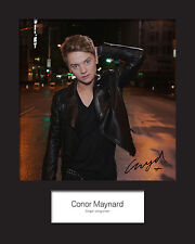 CONOR MAYNARD #2 10x8 SIGNED Mounted Photo Print - FREE DELIVERY