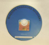 Windows Password Recovery Remove Recover Reset CD for XP,VISTA,WIN 7 & WIN 8