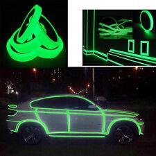 Leuchtband Reflektorband nachtleuchtend selbstklebend Nachtlicht Klebeband grün.