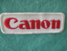 "Canon Camera And Printer MFG Patch 3 7/8"" X 1 1/4"""