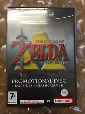 NEW FACTORY SEALED THE LEGEND OF ZELDA COLLECTOR'S ED FOR NINTENDO GAMECUBE