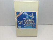 The Most Inspiring Songs of The Century (4 Cassettes, 1991, Reader's Digest)NIB