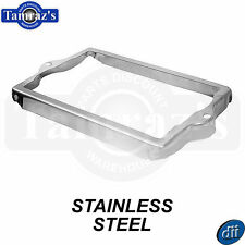 55-57 Chevy Pickup Battery Tray Hold Down Clamp TOP FRAME - STAINLESS STEEL
