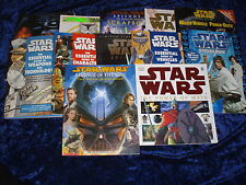 12 STAR WARS GUIDEBOOKS *FREE UK P&P* P/B