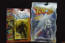 Toy Biz The Uncanny X-Men 5th Edition Wolverine 1993 & La Lunatica 1996