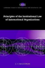 Principles of the Institutional Law of International Organizations (Ca-ExLibrary