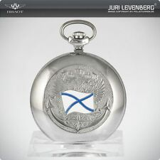 Molnija 3602 orologio da tasca Russian Fleet Marine Pocket Watch Andreas croce SALTIRE