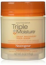 2 Pack - Neutrogena Triple Moisture Deep Recovery Hair Mask 6oz Each