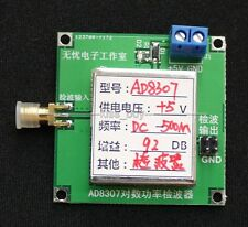 AD8307 Module wideband RF detector RF power meter ALC AGC Strength Meter