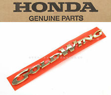 New Genuine Honda Left Side Cover Emblem 98-00 GL1500 Goldwing OEM Badges  #c54
