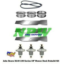 "John Deere LA145 100 Series 48"" Lawn Mower Deck Parts Rebuild Kit FREE SHIPPING"