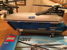 LEGO City Heavy-Duty Helicopter (4439) with manual