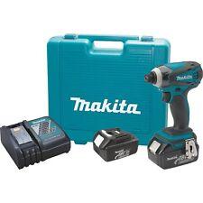 Makita LXDT04X1 18V LXT Lithium-Ion Cordless Impact Driver Kit Impact GOLD Bits