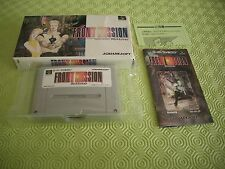 FRONT MISSION TACTICS RPG SFC SUPER FAMICOM JAPAN IMPORT COMPLETE IN BOX!