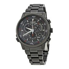 "New Citizen Men's AT4117-56H ""Nighthawk A-T"" Stainless Steel Eco-Drive Watch"