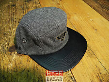 ROOK | PREMIUM LOW CLASS 5 PANNEL CAP NEU FARBE:BLACK ROOK BRAND - SUPER FRESH