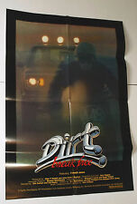 DIRT: BREAK FREE one sheet MOVIE POSTER 1979 underground racing documentary