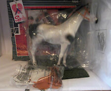 Vintage Pedigree Sindy 1984 Boxed Dapple Grey Horse With All Accessories Perfect