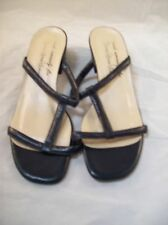 Black Strappy Sandals from Made Especially for Kemp's Shoe Salons Size 8M