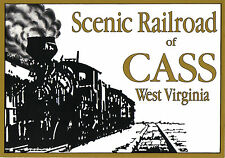 Collectible Scenic Railroad CASS West Virginia Historical Postcard
