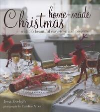 NEW Home-Made Christmas by Tessa Evelegh w/35 beautiful projects HARDCOVER book