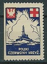 Poland label medicine Red Cross WW II (2)