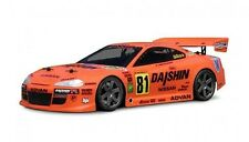 1:18 HPI 7617 Nissan Silvia GT  Body / Karosserie clear + decals wb140mm