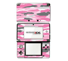 Vinyl Skin Decal Cover for Nintendo 3DS - Pink Camo