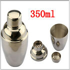 350ml Stainless Steel Cocktail Martini Shaker Party Bartending Bar Drink Mixer