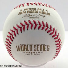 (12) Rawlings 2014 World Series Official Game Baseball SF Giants 1 Dozen