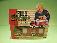 REPLICA SIKU MB FIRE ENGINE +WATER SQUIRT - 1:50? - RARE SELTEN - GOOD IN BOX
