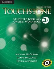 Touchstone Level 3 Student's Book A with Online Workbook A, Sandiford, Helen, Mc