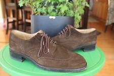 TOD'S SUEDE BROWN WINGTIP OXFORD SHOES SIZE 10.5  (MENS600)