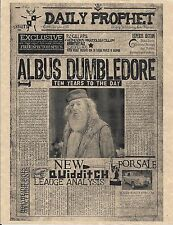 Harry Potter The Daily Prophet Albus Dumbledore Flyer Prop/Replica